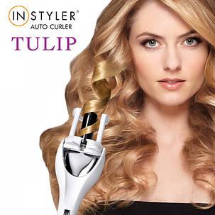 Стайлер для волос Instyler Tulip Auto Curler манящие кучеряшки кудри, фото 2