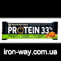 Батончик Go On Nutrition Protein Bar 33% 50г (соленая карамель)
