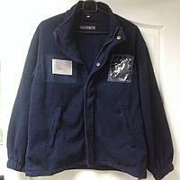 """Куртка флисовая с четырьмя карманами, оригинал служащих миграционной службы Великобритании, """"Warrior"""", б/у"""