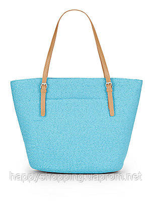 Голубая сумка Saks Fifth Avenue