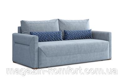 М'який ортопедичний диван ТІМ з об'ємними підлокітниками