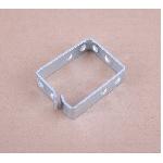 Кабельний організатор-кільце 44х60, метал 2мм, оцинковка (4981)