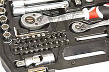 Набор инструментов YATO, 72 элемента YT-38782, фото 2
