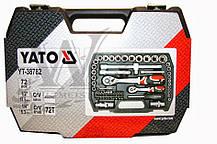 Набор инструментов YATO, 72 элемента YT-38782, фото 3