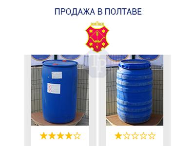 0244-23/1: С доставкой в Полтаву ✦ Бочка (220 л.) б/у пластиковая