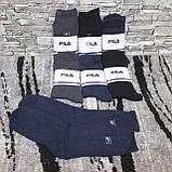 Носки махровые  мужские FILA (В упаковке 12 пар), фото 3