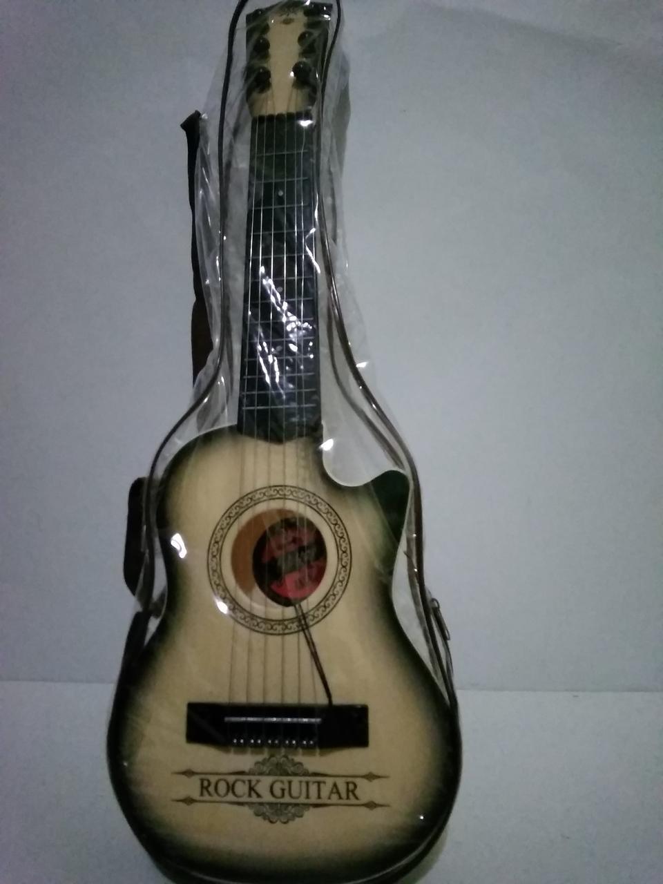 Дитяча 6 струнна іграшкова гітара.Музичний інструмент для дітей.