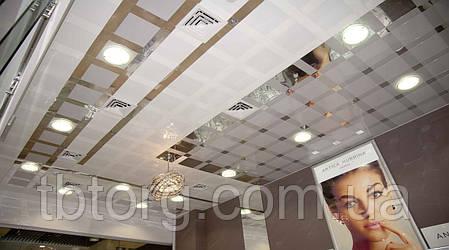 Підвісні стелі алюмінієві 300/300 0 63 мм Прямокутна з нанесенням дизайнерського малюнка, фото 2