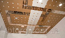 Підвісні стелі алюмінієві 300/300 0 63 мм Прямокутна з нанесенням дизайнерського малюнка, фото 3