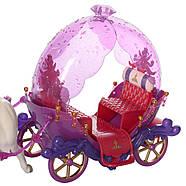 Музыкальная карета 238A для девочек Милана Экипаж, фото 4
