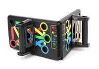 Доска для отжиманий, опоры для отжиманий, стойка для бодибилдинга Push Up Rack Board с упорами - Акция
