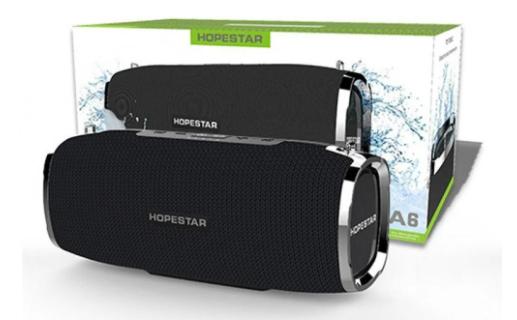 Портативная беспроводная Bluetooth колонка Hopestar A6