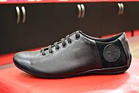 Мужские кожаные спортивные туфли Road Style