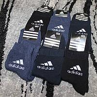 Шкарпетки чоловічий махра Адідас (В упаковці 12 пар), фото 1