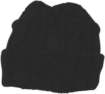 Вязаная акриловая шапка Thinsulate Pro Company Arctica Black 10973A, фото 2