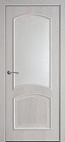 """Дверь межкомнатная остеклённая с рисунком новый стиль Интера """"Антре А"""" 60,70,80,90 см патина серая"""