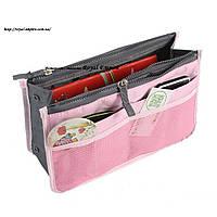 """Сумка органайзер """"Хейли"""", для организации и удобного хранения нужных вещей. розовый"""
