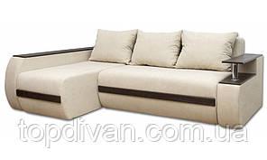 """Кутовий диван """"Гаспар Преміум"""". Ортопедичний, незалежний пружинний блок ( тканина 01)"""