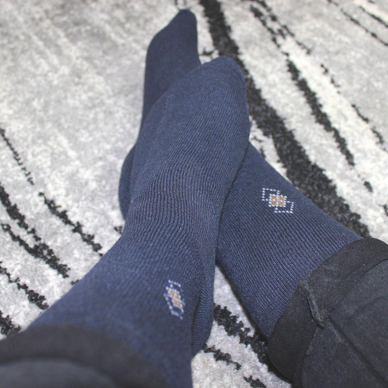 Носки махровые  мужские 230-3 (В упаковке 12 пар)