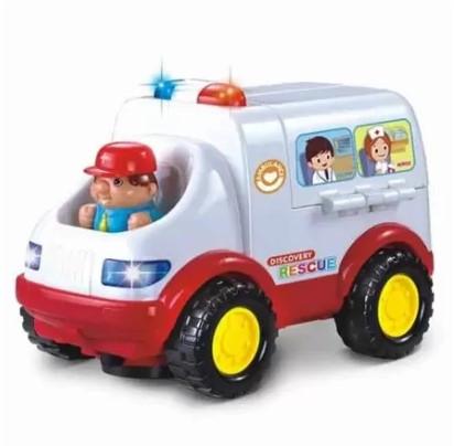 Іграшкова машинка Швидка допомога 836
