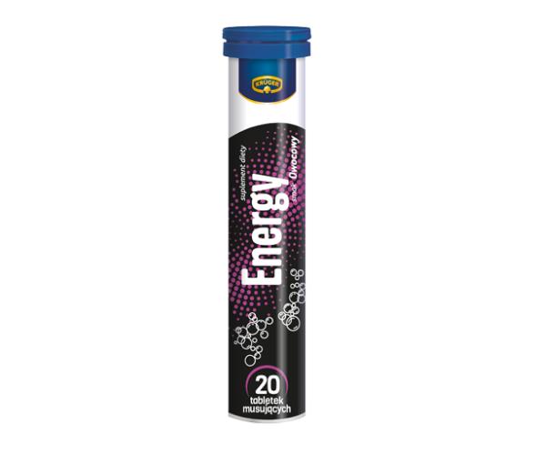 Вітаміни розчинні шипучі Kruger Energy - 20 таблеток