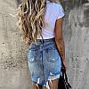 Юбка джинс. Размеры: S,M,L.(5033), фото 3