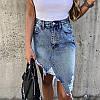 Юбка джинс. Размеры: S,M,L.(5033), фото 2