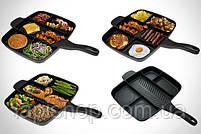 Сковорода универсальная Magic Pan на 5 отделений, фото 6