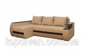 """Угловой диван """"Гаспаро Премиум"""". Ортопедический, независимый пружинный блок (ткань 02)"""