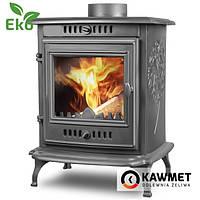 Чугунная печь KAWMET P10 (6.8 кВт) печи чугунные отопительно варочные для дома и дачи