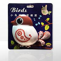 Утримувач для зубних щіток Birds коричневий (4052)
