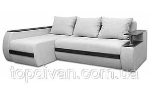 """Угловой диван """"Гаспаро Премиум"""". Ортопедический, независимый пружинный блок (ткань 08)"""