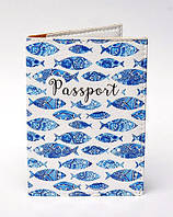 """Обложка на паспорт """"Рыбки"""""""