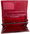Превосходный женский  кошелек из натуральной кожи LAS FERO (ЛАС ФЕРО) MISS178050-red (красный), фото 3