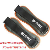 Фиксированные отягощения для ног 0.5 кг Power System