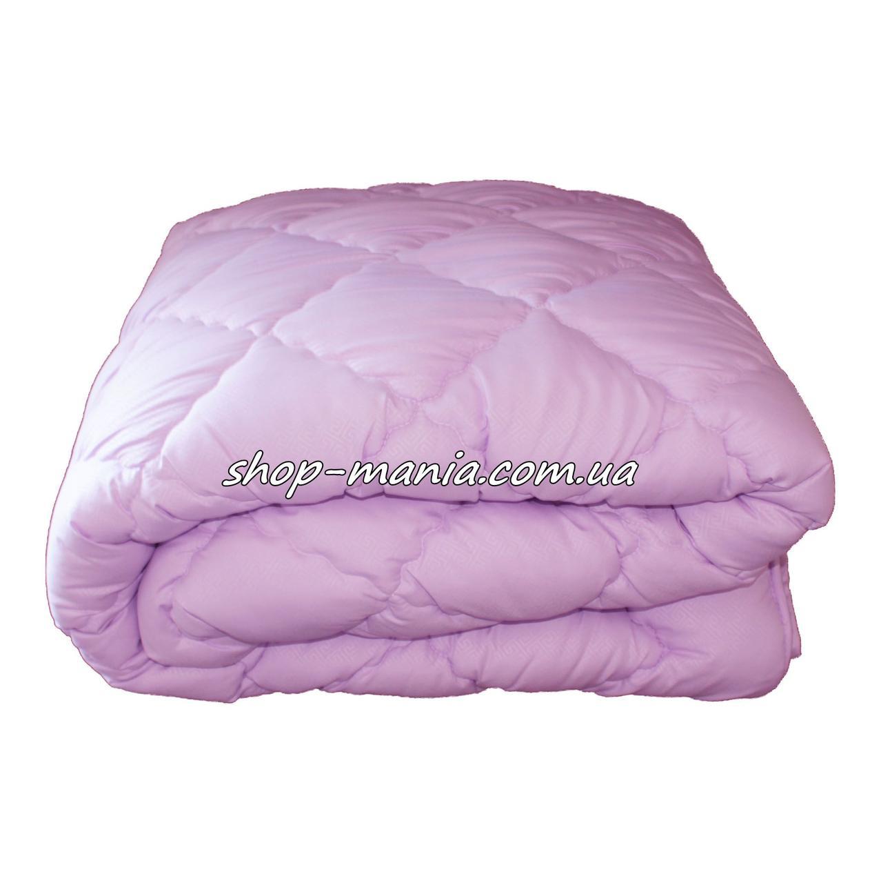 Одеяло двуспальное стёганное ОДА 4 сезона 2в1 летнее + демисезонное 175х210 SM 8107-2 ODA 4 season violet