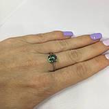 Кольцо мистик топаз. Кольцо с мистическим топазом в серебре. Размер 19, фото 4