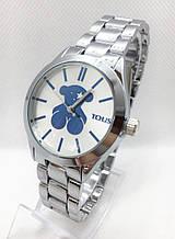Часы женские наручные в стиле TOUS (Тоус), серебристые ( код: IBW415SO )