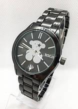 Часы женские наручные в стиле TOUS (Тоус), черные ( код: IBW415B )