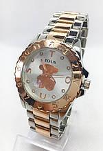 Часы женские наручные в стиле TOUS (Тоус), комбинированные ( код: IBW416YS2 )