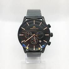 Годинники чоловічі кварцові MegaLith, колір чорний ( код: IBW318B )