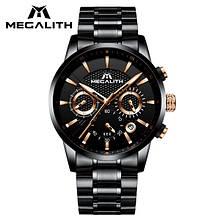 Годинники чоловічі наручні MegaLith 8007M, колір чорний ( код: IBW355B )
