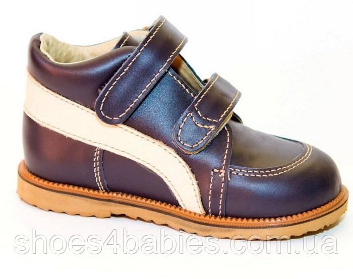 Ортопедические ботинки  Ортекс Т-002 антиварус Мальчик