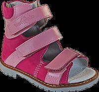 Ортопедические сандалии для девочки 06-262  р.31-36, фото 1