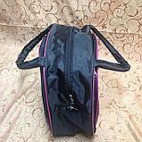 Спортивная сумка для фитнеса Adidas, Адидас черная с розовым ( код: IBS025BP ), фото 2