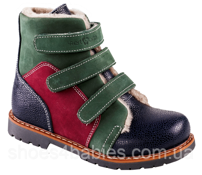 Ортопедические ботинки  зимние 06-753 р. 21-30