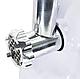 Мясорубка электромясорубка Domotec MS-2017 White, фото 3