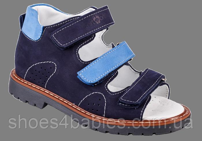 Ортопедические сандалии для мальчиков 06-155 р-р. 31-36