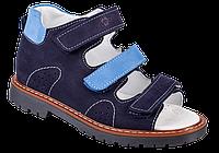 Ортопедические сандалии для мальчиков 06-155 р-р. 31-36, фото 1