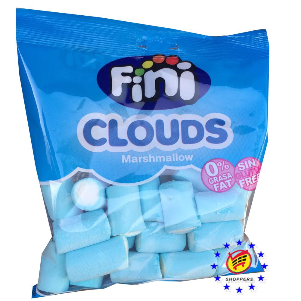 Жевательный зефир Fini Clouds Marshmallow бело- голубой , 80 г